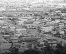 1973 Ibara city,whole view